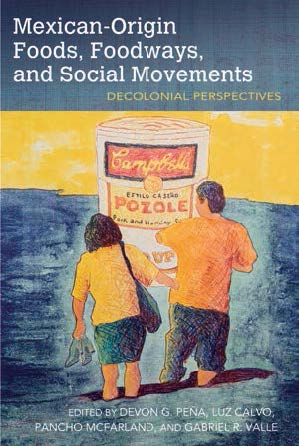 """cover of the book """"Mexican Origin Foods, Foodways, and Social Movements"""""""