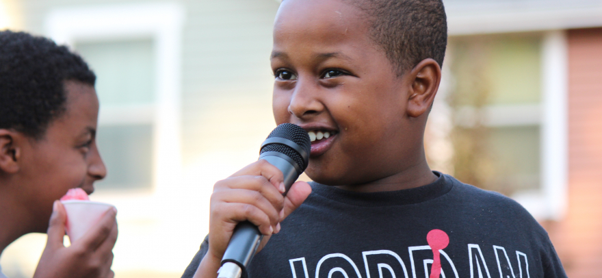 Photo taken at WMCA's youth-led community event Beautify the Block. Photos are by Sara Bernard from the Seattle Weekly