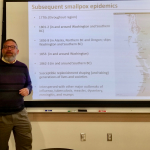 Photo of Steve Goodreau lecturing
