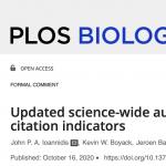 PLoS One Website screenshot