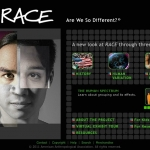 RACE exhibit poster