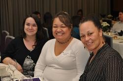 Teresa Mares, Rochelle Fonoti and Rachel Chapman (l to r)