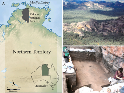 Madjedbebe rock shelter and surrounds