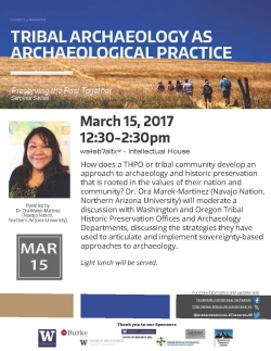 Tribal Archaeology as Archaeological Practice -Workshop Flyer