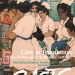 Cover of EASTS journal, painting by Chia Yu Chian of nurses and others gathered around a reception desk in a Malaysian hospital in the 1980s