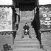 Peter Moran at Taklung Gon, central Tibet